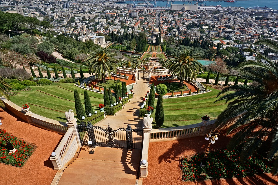The celebrations takes place at the foot of the Bahai Gardens