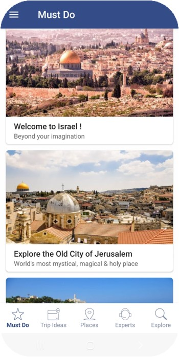 Must Do Experiences in Israel