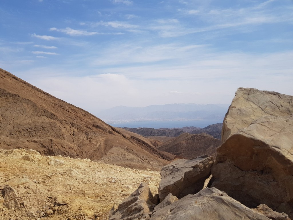 On the Eilat Mountains in Israel