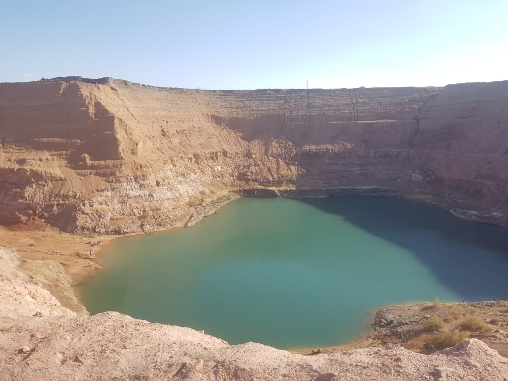 The Hidden Lake near Timna Park, Israel
