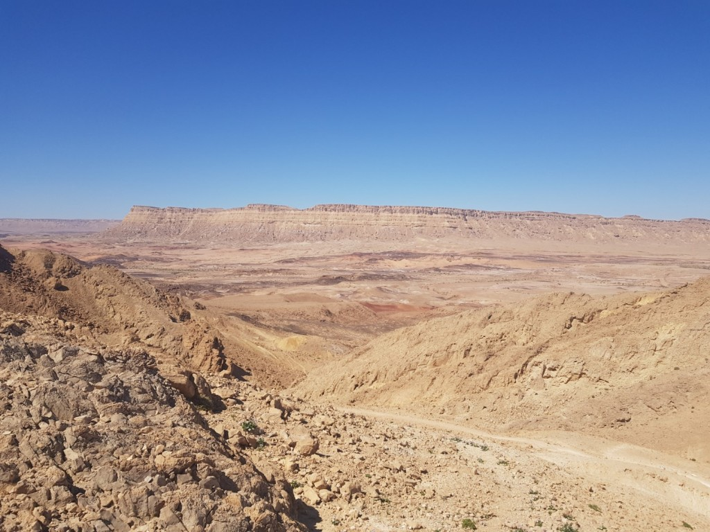 The Ramon Crater in Israel